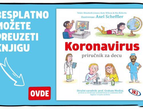 Koronavirus – ilustrovana knjiga za decu
