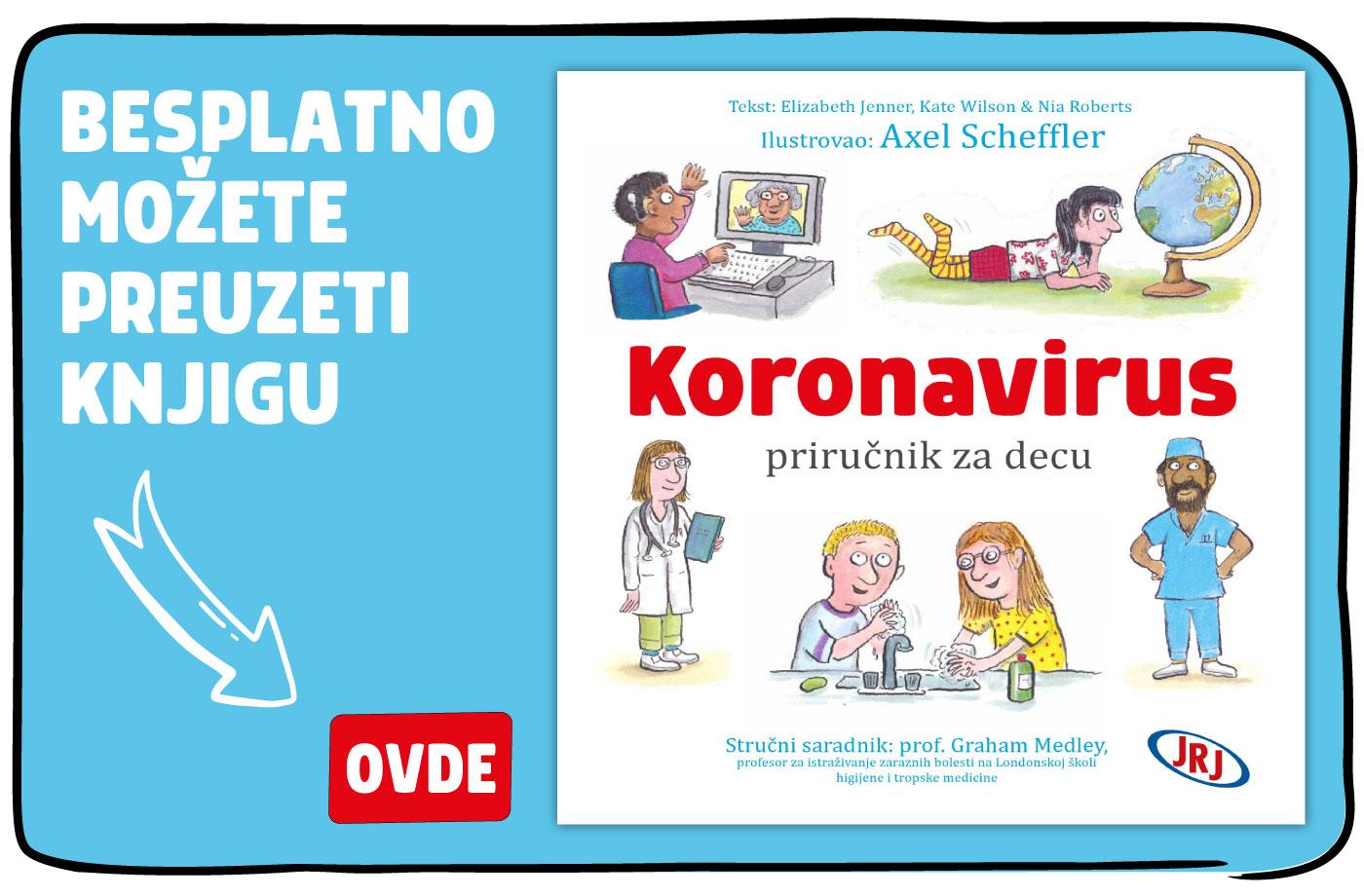 koronavirus prirucnik za decu besplatna knjiga
